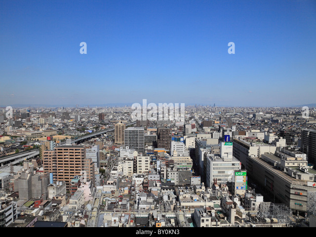Cityscape of Sakai, Osaka, Osaka, Japan - Stock Image