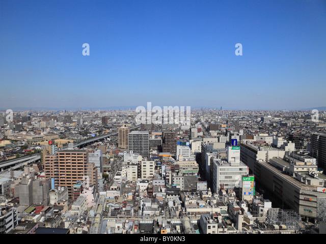 Cityscape of Sakai, Osaka, Osaka, Japan - Stock Image