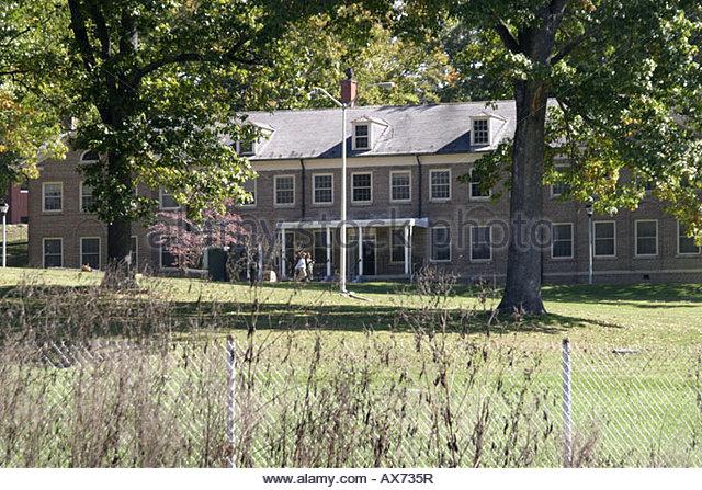 West Virginia Alderson Federal Prison for Women Martha Stewart prisoner here - Stock Image