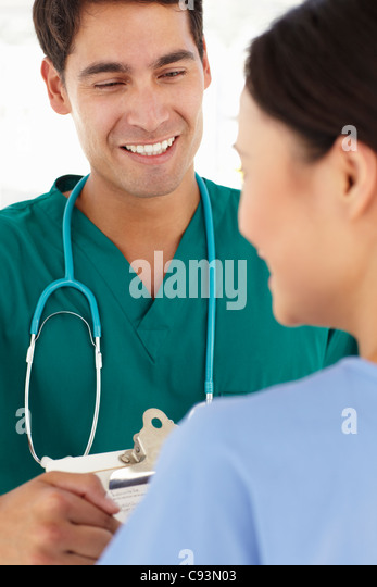 Young doctors - Stock Image