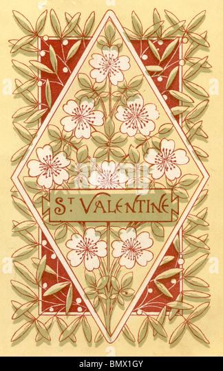 St Valentine - Stock Image