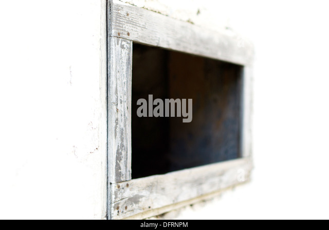 window - minimalist approach - Stock Image