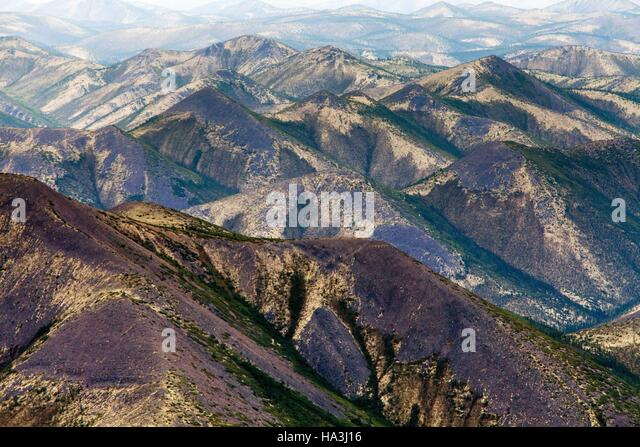Hills above the russian