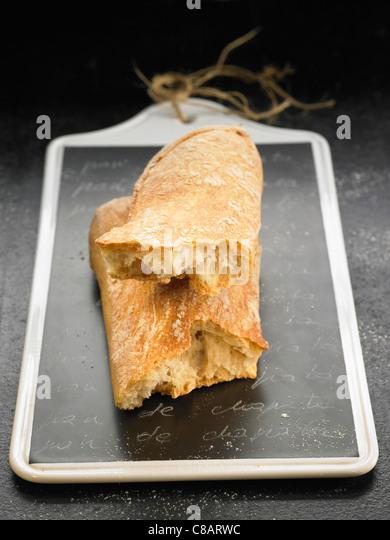 Ciabatta bread - Stock Image