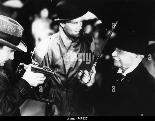 Joel Mc Crea / Foreign Correspondent 1940 directed by Alfred Hitchcock - Stock Image