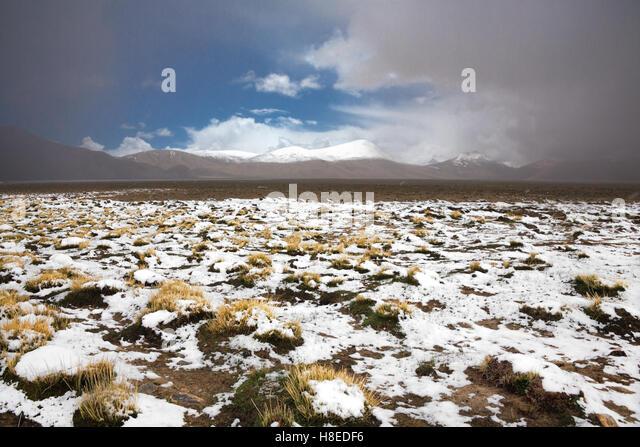 Landscape near Karakul lake - Pamir - T ajikistan - GBAO province -  Roof of the world - Stock Image