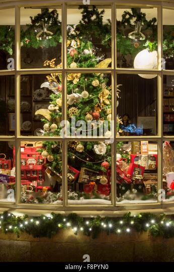 Victorian Christmas Tree Decorations Stock Photos