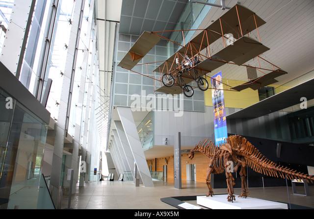 Foyer Museum Victoria : Melbourne museum stock photos