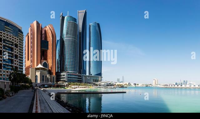 Sheikh Zayed Mosque in Abu Dhabi, United Arab Emirates - Stock Image