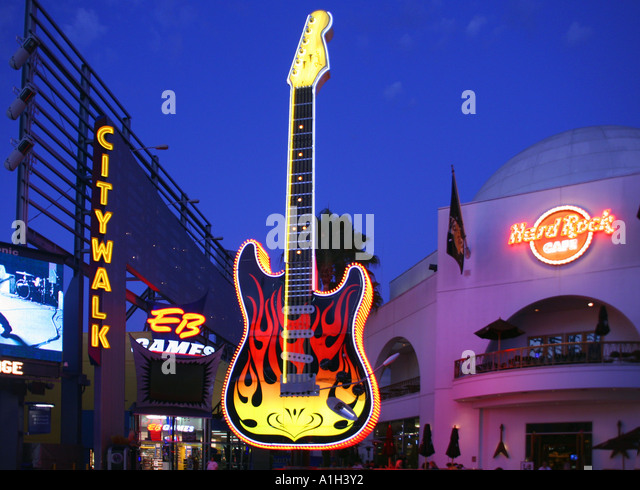 Hard Rock Cafe Universal City Ca Usa