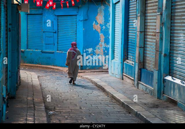 Tunis Medina, Tunis, Tunisia - Stock Image