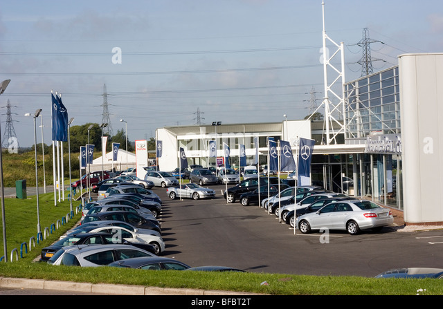 Mercedes dealership stock photos mercedes dealership for Mercedes benz dealer san jose