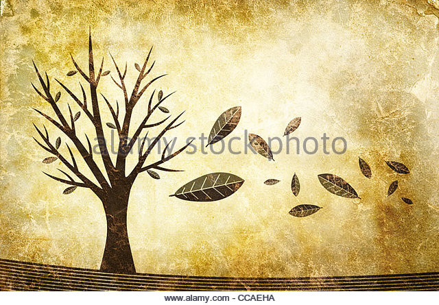 autumn illustration - Stock-Bilder