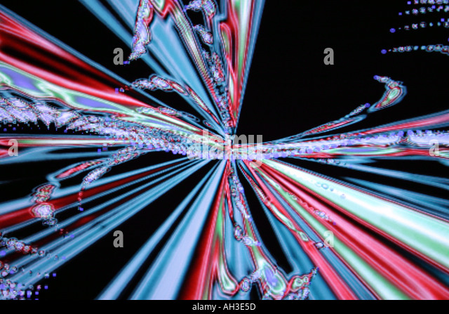 Abstract conceptual colored backgrounds conceptual hi tech special effects surreal - Stock Image