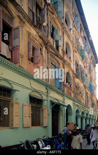Indien, Mumbai, Strassenszene - Stock-Bilder