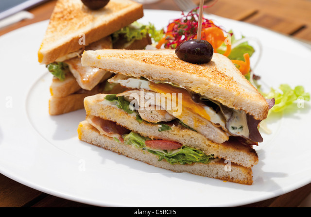 Close up of sandwiches - Stock-Bilder