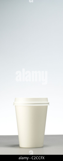 A cup of takeaway coffee - Stock Image