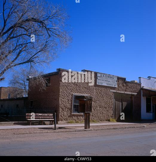 The OK Corral Tombstone Arizona USA - Stock Image