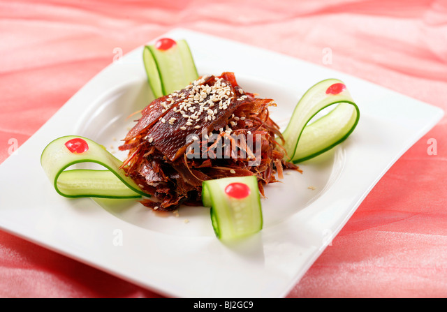 Chinese food,still life - Stock Image