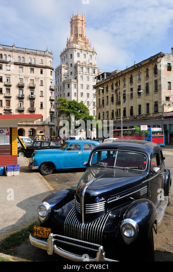 Havana. Cuba. Cuban Telephone Company building (1927) - Stock Image