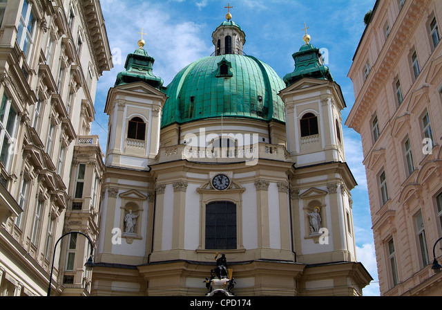 Church of St. Peter, Vienna, Austria, Europe - Stock Image