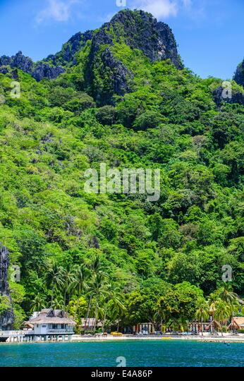 El Nido resorts, Miniloc island, Bacuit archipelago, Palawan, Philippines, Southeast Asia, Asia - Stock-Bilder
