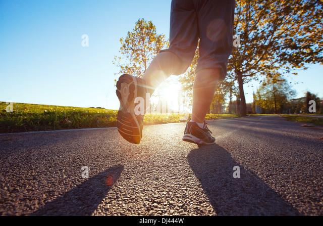 jogging - Stock Image