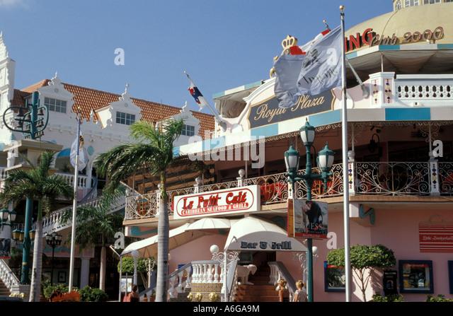 Aruba Oranjestad Royal Plaza shopping mall - Stock Image
