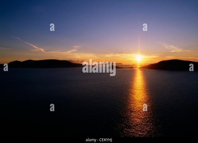 Blasket Island In The Dingle Peninsula, Ireland - Stock Image