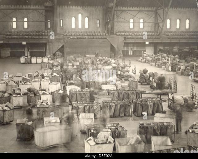 Christmas Mail, 1924 - Stock Image