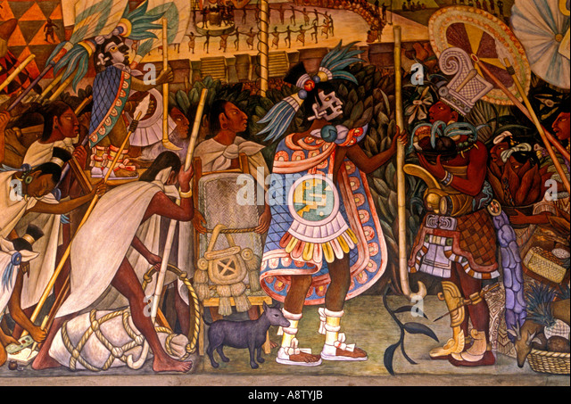 Diego rivera mural mexico history stock photos diego for Mural diego rivera