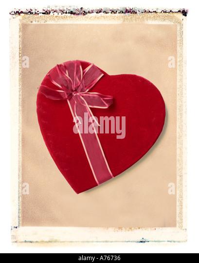 valentine s day candy heart gift - Stock-Bilder