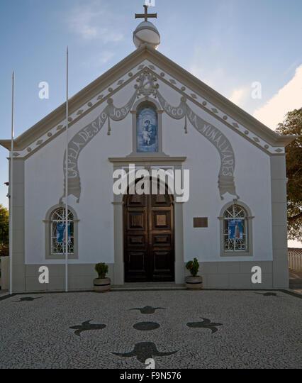 Camacha, Capela Da Sao Jose Church, Madeira, Portugal, - Stock Image