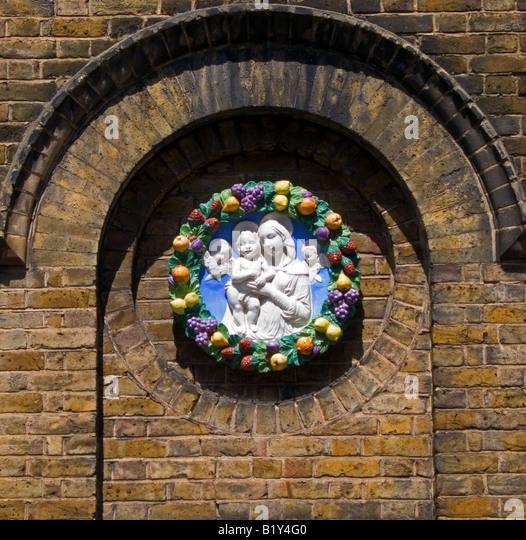 Ceramic Religious Plaque Stock Photos Amp Ceramic Religious