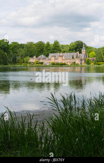Rufford Abbey Country Park - Stock Image
