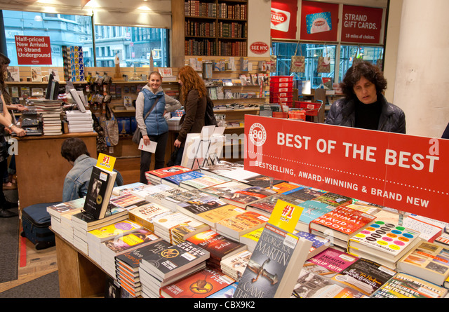 Strand Famous Bookstore on Broadway, Manhattan (New York City) - Stock Image