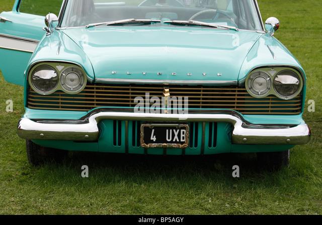 Old Plymouth Headlight : Headlight stock photos images
