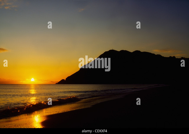 Bray Head And Beach, Co Wicklow, Ireland - Stock Image