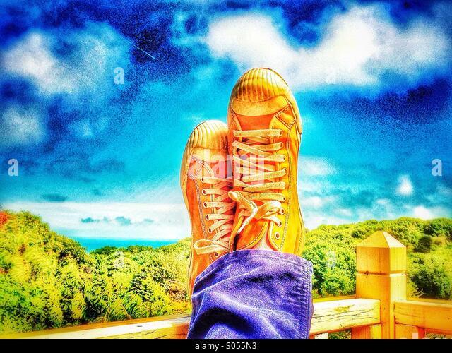 Sneakers - Stock-Bilder