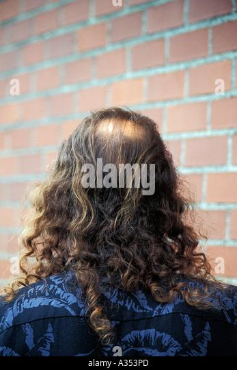 Man Bald  Spot Stock Photos Man Bald  Spot Stock Images