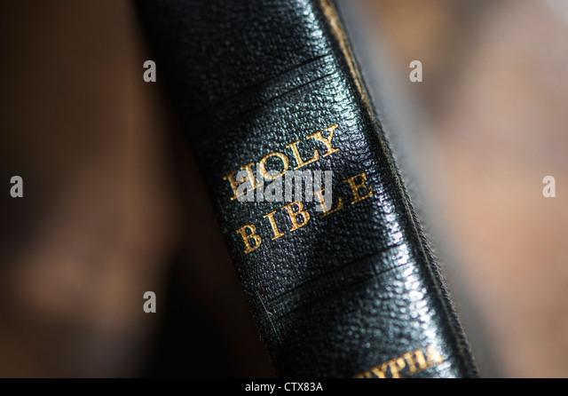 Holy Bible - Stock Image