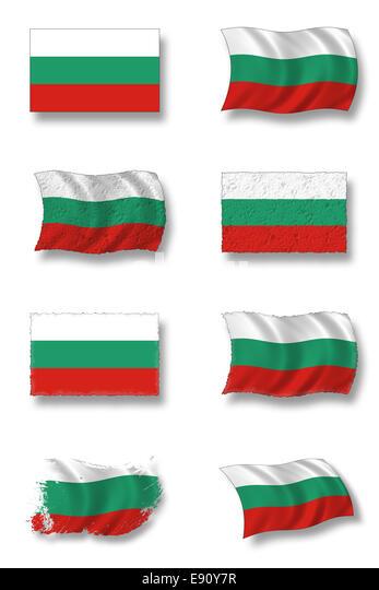 Bulgaria Flag Colors Rgb