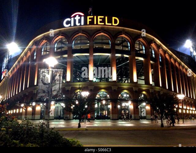 Citifield. Home of the New York Mets. Flushing, New York. - Stock-Bilder