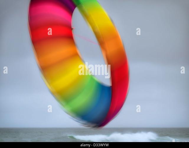 Kite at Lincoln City Kite Festival. Oregon Coast. - Stock Image