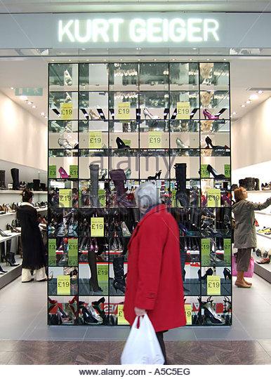 Shoe Shop At Brighton Marina