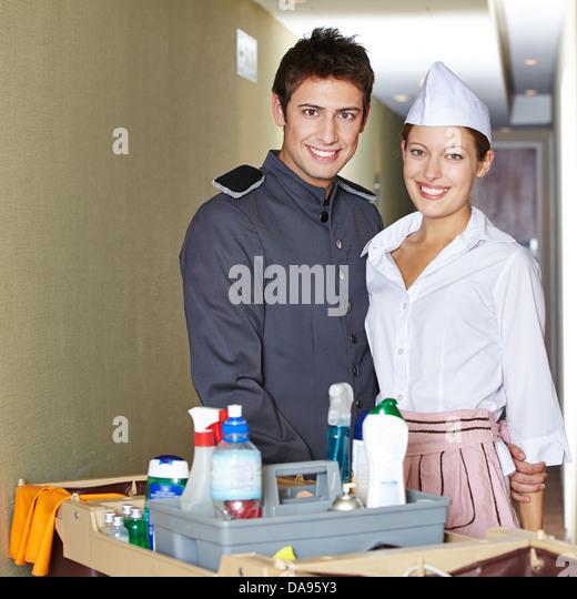 Hotel Housekeeping Services: Housekeeping Cart Hotel Stock Photos & Housekeeping Cart