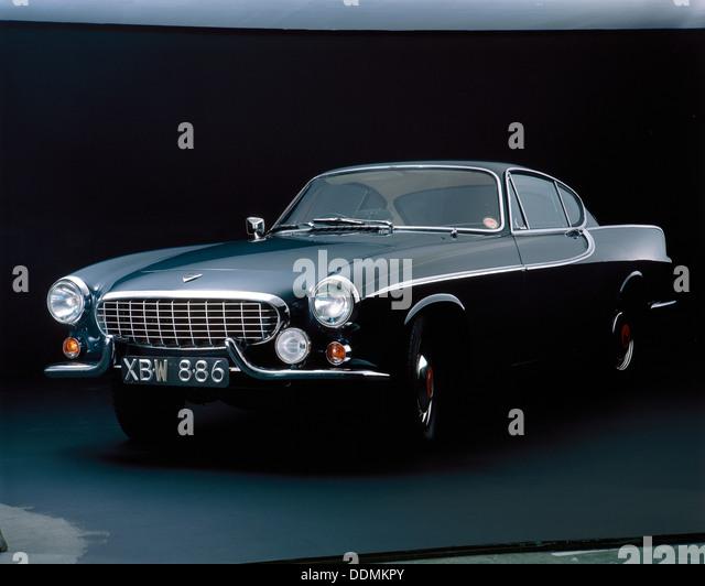 A 1962 Volvo P 1800S. - Stock-Bilder