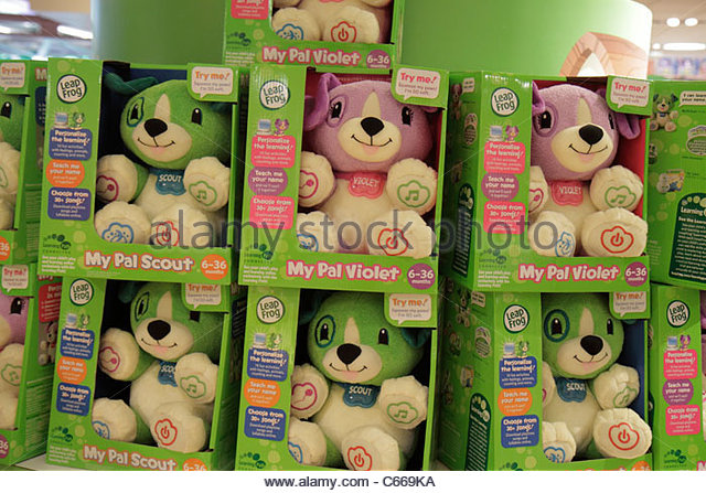 Manhattan New York City NYC NY Midtown Times Square Toys R Us toy store chain shopping retail display packaging - Stock Image