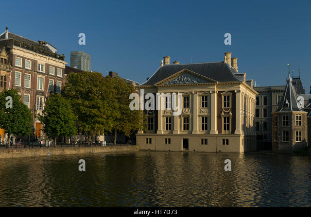 Royal picture gallery Mauritshuis Museum in the Hague Netherlands - Stock Image