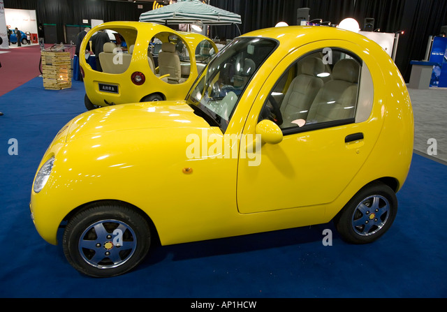 Book of Songs electric car - Stock Image